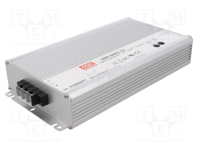 MEAN WELL HEP-600C-12 - Caricabatterie: per batterie ricaricabili