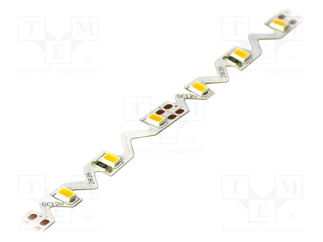 WISVA OPTOELECTRONICS HH-S60F006-2835S WW WHITE PCB IP20 - Ταινία LED