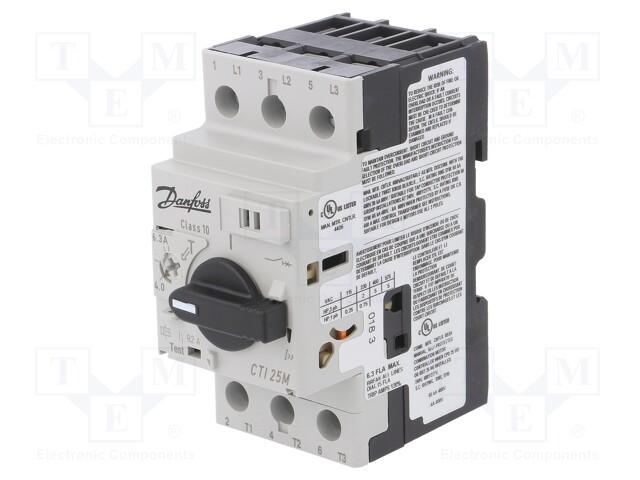 DANFOSS CTI 25M 4.0-6.3A - Motorový jistič