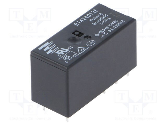 TE Connectivity 2-1393237-8 - Relay: electromagnetic