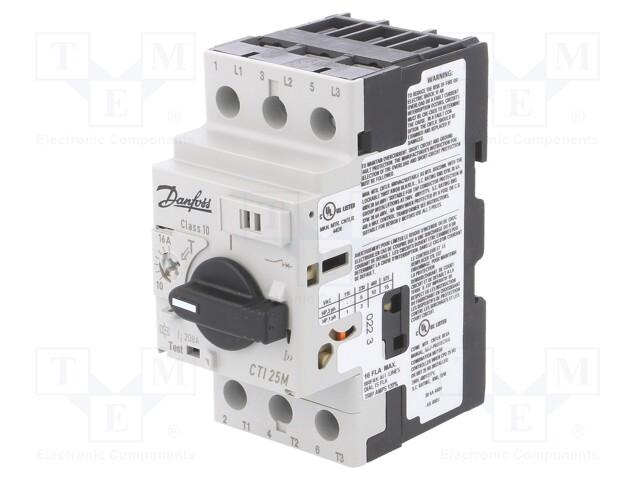 DANFOSS CTI 25M 10-16A - Motorový jistič