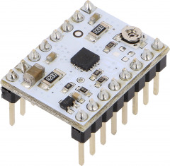Low-voltage stepper motor controller